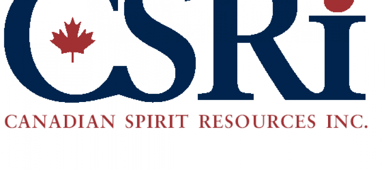 Canadian Spirit Resources Inc. Announces Third Quarter 2020 Financial Results and Grant of Stock Option