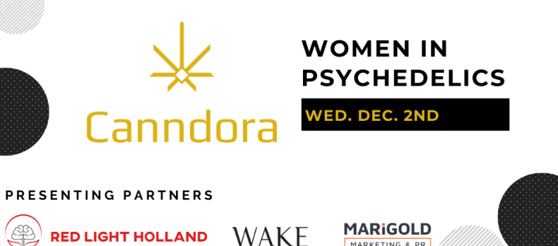 Canndora Announces 2020 Women in Psychedelics Event