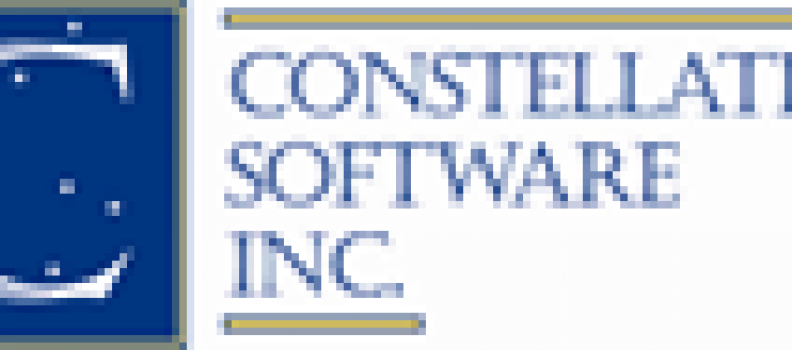 Constellation Software Inc. Announces Results for the First Quarter Ended March 31, 2021 and Declares Quarterly Dividend