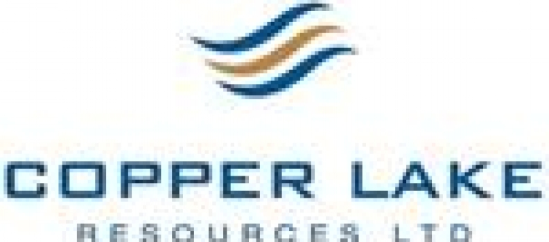 Copper Lake Announces Closing of First Tranche of Previously Announced Private Placement