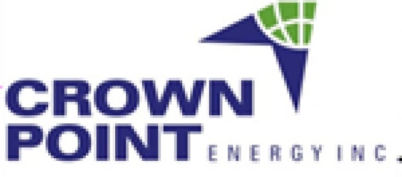 Crown Point Announces Stock Option Grant