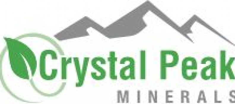 Crystal Peak Minerals Provides Update on Financial Position