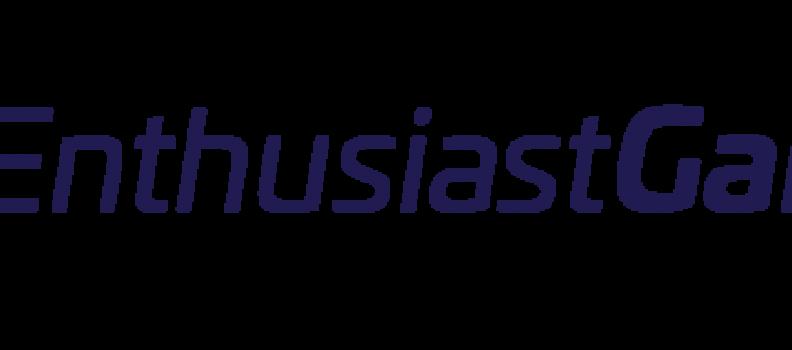 Enthusiast Gaming Announces Pro Forma Revenue of $6.3 Million in Third Quarter 2019