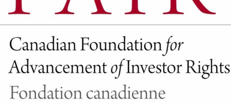FAIR Canada proposes review of the fundamental approach to self-regulation of Canada's securities markets