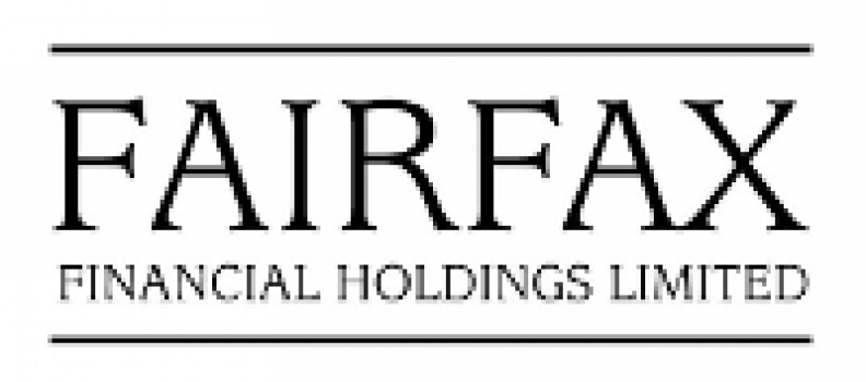 Fairfax Financial Holdings Limited: Executive Announcement