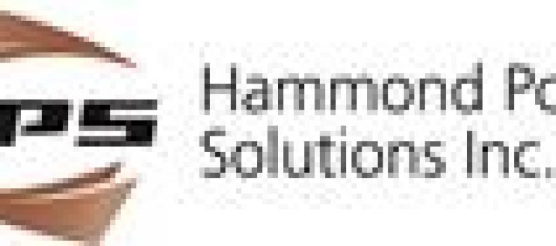 Hammond Power Solutions Inc. Announces Quarter 2, 2021 Financial Results