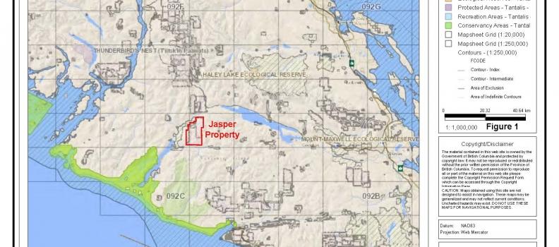 Hanna Capital Corp. – Jasper Property