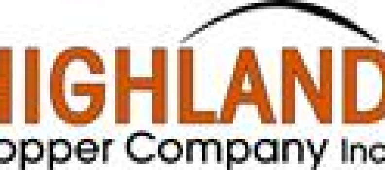Highland Copper Announces Completion of the White Pine North Project Acquisition