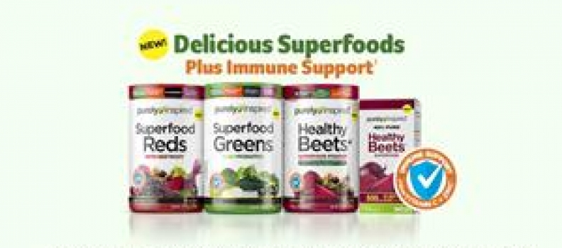 Iovate Health Sciences Announces Launch Of Purely Inspired Superfoods Product Line At Walmart And On Walmart.Com