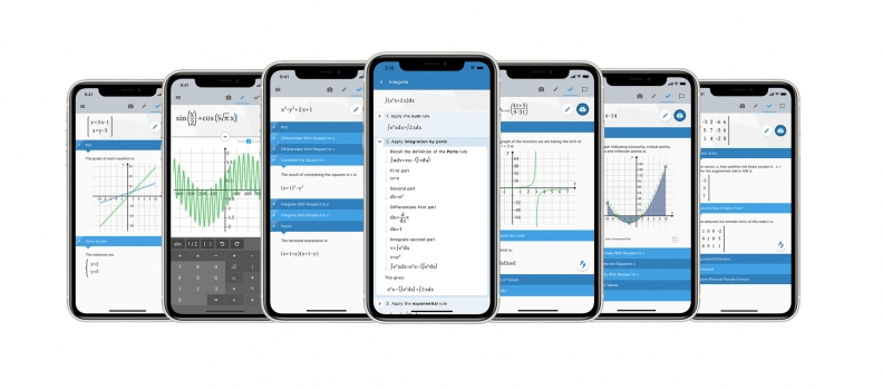 New release of Maple™ Calculator app helps students learn math with step-by-step solutions