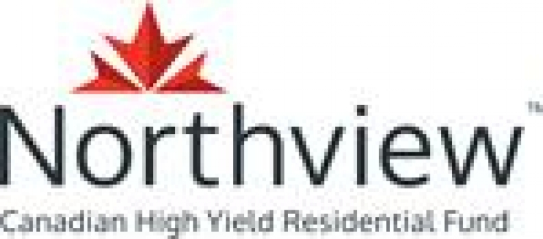 Northview Canadian High Yield Residential Fund Announces April Distribution