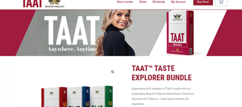 Over CAD $100,000 of TAAT™ Ordered During First Weekend After E-Commerce Launch, TAAT™ Taste Explorer Bundle Added to Online Store