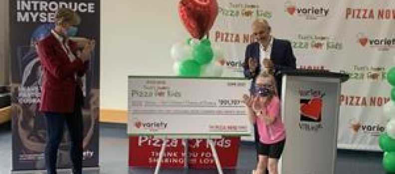 """PIZZA NOVA'S """"THAT'S AMORE PIZZA FOR KIDS"""" RAISES $201,727 FOR VARIETY ONTARIO AND IS RECOGNIZED BY MAYOR JOHN TORY"""