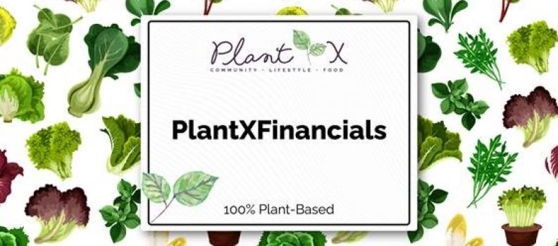 PlantX Announces Monthly Gross Revenue of $1,029,883 for December 2020