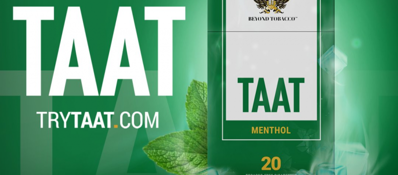 TAAT™ Menthol is the First TAAT™ Variety to be Sold Out and Reordered by Ohio Tobacco Retailers