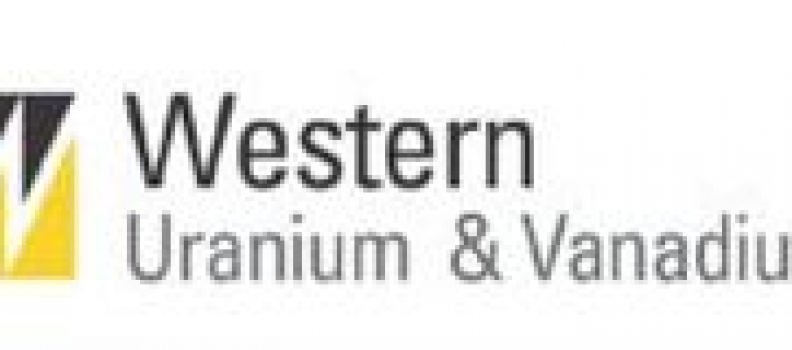 Western Uranium & Vanadium Corp. Mining Update